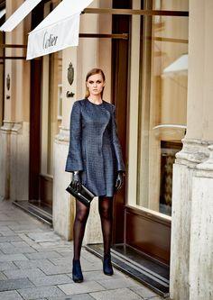 Long Blazer Style Dress Pattern