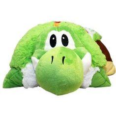 "Super Mario Brothers: Yoshi Green 25"" Cushion Pillow  Order at http://amzn.com/dp/B004Z3OZA4/?tag=trendjogja-20"