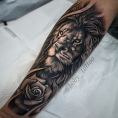 48210745 5 Reasons Why You Should Get a Tattoo Today, millions of people have tattoos. From … en 2020 Lion Forearm Tattoos, Lion Head Tattoos, Mens Lion Tattoo, Calf Tattoo Men, Xoil Tattoos, Octopus Tattoos, Bird Tattoos, Feather Tattoos, Small Tattoos