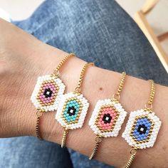 • Colorful Miyuki • 💕✨ Escoge tu combinación perfecta! Tenemos diferentes colores y diseños para todo tipo de gustos! DM para mayor información y precio 💕