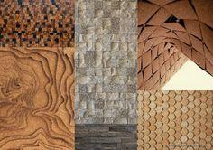 UNIVERS CREATIFS: La renaissance du Liège / 5. Corporate Interiors, Office Interiors, Cork Wall Tiles, Architecture Design, Cork Flooring, Home Office Design, Renaissance, Design Inspiration, Assemblages