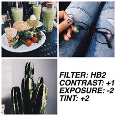 #HB2filtrs / free filter❕ REALLY nice filter  that works really well  on most pics and  it gives your  pictures a lil' green tint too