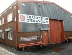 Salvation Army Furniture Store on Haynes Street