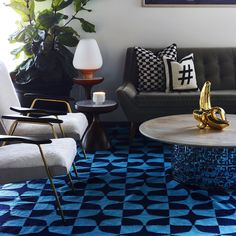 Small space? Big style. A fab room filled with Jonathan Adler.