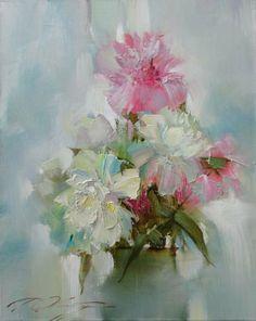 Denis Oktyabr [Денис Октябрь] 1977 ~ Russian Impressionist painter