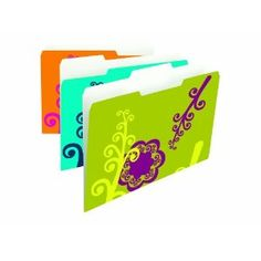 Smead file folders! Your office can match your personality.