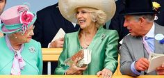 But just look at them now: Camilla and Charles are all smiles with the Queen at Royal Asco...