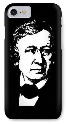 Wilhelm Carl Grimm IPhone 7 Case featuring the mixed media Wilhelm Grimm by Otis Porritt