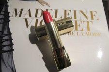 El color de labios es de la nueva coleccion de Dolce& Gabanna, se llama bellisima 515