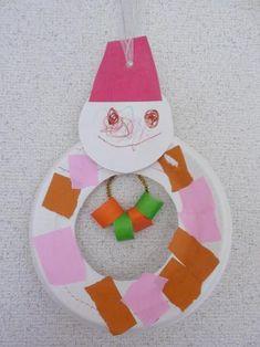 まんまる雪だるまリース〜紙皿で楽しむ、アイディアつまった冬の製作遊び〜