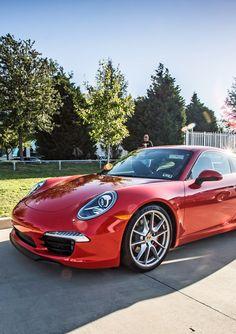 Porsche 911 - Love this color... beautiful.