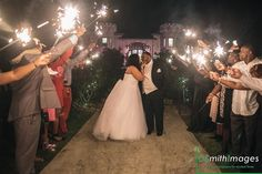 #TheSterlingCastle #SparklerPhoto  #FairytaleWedding #AlabamaWeddings