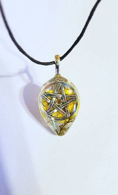 Pentacle Symbol Real Flower Moss Nature Pendant Resin Necklace Bohemian Jewelry Glitter pagan spiritual  https://www.etsy.com/listing/532251897/pentacle-symbol-real-flower-moss-nature