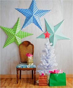 wall stars and other Christmassy things