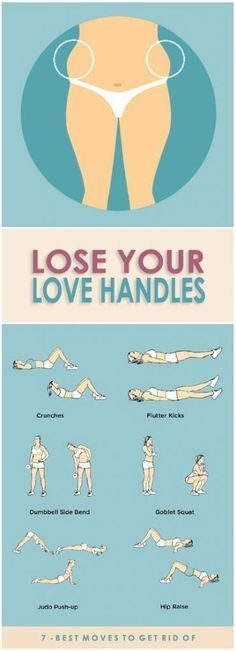 love-handles-workouts diet workout glutes