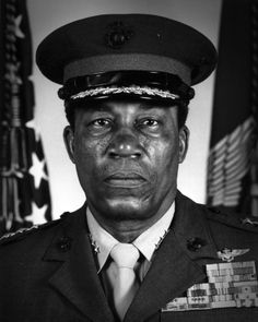 Frank E. Petersen Frank Emmanuel Petersen Jr. (USMC) (March 2 1932  August 25 2015) was a United States Marine Corps Lieutenant General. He was the first African-American Marine Corps aviator and the first African-American Marine Corps general.  Petersen retired from the Marine Corps in 1988 after 38 years of service. At the time of his retirement he was by date of aviator designation the senior ranking aviator in the U.S. Marine Corps and the United States Navy with respective titles of…