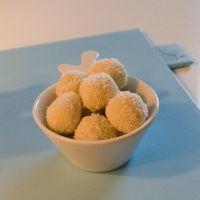 Suikervrije marsepeintruffels