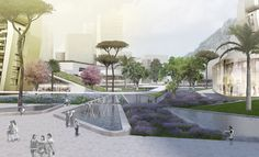 Loos van Vliet - Yongjia World Trade Centre in Wenzhou Trade Centre, World Trade Center, Van, Future, Drawings, Outdoor Decor, Image, Sketches, Future Tense