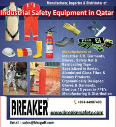 Safety Equipment Manufacturer Suppliers in Qatar