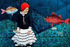 #fish #laughing #photoshoot #kids  #fashion #kidsfashion #VogueBambini,  copyright by Luca Zordan