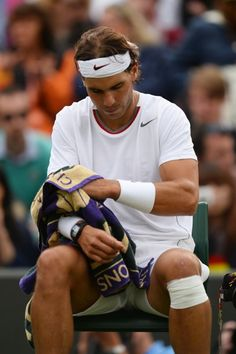 Rafael Nadal bounced from Wimbledon in first round | Busted Racquet - Yahoo! Sports #sports #tennis #wimbledon #rafaelnadal