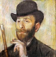 Edgar Degas - Self Portrait 1880