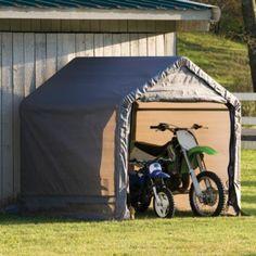 ShelterLogic® Shed-in-a-Box® in Grey - BedBathandBeyond.com