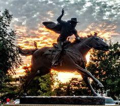 Texas Tech Masked Rider around sunset. Texas Tech Dorm, Texas Tech Football, Texas Tech University, Texas Tech Red Raiders, College Mom, Lubbock Texas, Grad Pics, Raider Nation, Texas Rangers