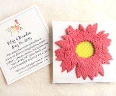 170 Sunflower Seed Wedding Favors Golden Yellow by recycledideas