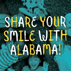 'Share Your Smile with Alabama' photo campaign open to third graders statewide go.usa.gov/xnR7p #ShareYourSmile #PhotoContest