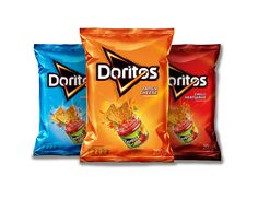 Americans currently spend about of their food income buying processed junk like popular Doritos. Doritos a. Chip Packaging, Candy Packaging, Food Packaging Design, Doritos, My Favorite Food, My Favorite Things, Branding, Eat Right, Confectionery