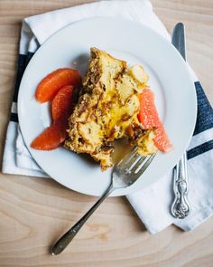 baked eggnog french toast + the gourmet kitchen // brooklyn supper