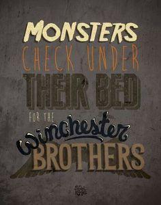 Sam Winchester and Dean Winchester