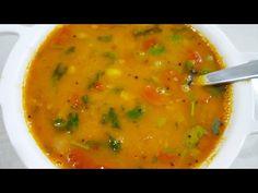 સ્વાદિષ્ટ ગુજરાતી દાળ-ભાત બનાવવાની રીત l Gujarati Dal- Rice Recipe. Rice Recipes, Cooking Recipes, Dal Recipe, Cheeseburger Chowder, Health Tips, Ethnic Recipes, Youtube, Food, Chef Recipes