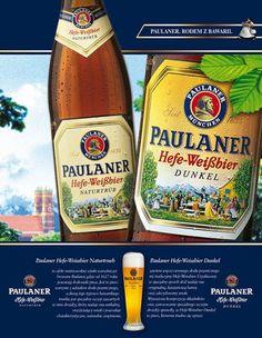 Paulaner Cerveza Paulaner, Beverages, Drinks, Bavaria, Munich, Germany, Beer, Ads, Signs