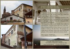 - ANCIENT HOUSE IN MONFERRATO ITALY FOR SALE ref1007  www.casedicollina.it Indipendent house with refined perspective of restoration, located in the historic centre of a traditional Italian village in Monferrato. Fascinating elements and great view. #Italy #countryhouseforsale #Monferrato #Tonco