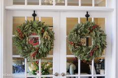 Love the wreaths