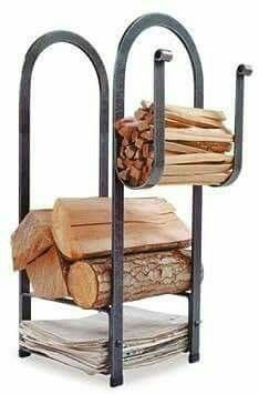 Firewood Rack Colin should make. Firewood Rack Colin should make. Metal Projects, Metal Crafts, Diy Projects, Firewood Rack, Firewood Storage, Firewood Stand, Blacksmith Projects, Welding Art, Welding Ideas