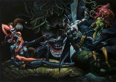 Batman Art Inspired by Michelangelo's The Creation of Adam — GeekTyrant