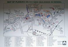 Historic Buildings in Kendal, Cumbria.