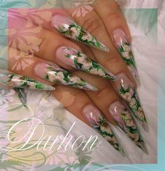 Nail Art Gallery - spring in other color