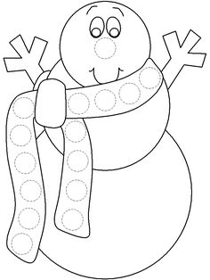Bingo Marker Coloring Pages - Spring Bingo 2 Coloring Page Bingo Dauber Snowman Free Coloring Pages for Preschoolers for Christmas Dot Painting, Painting For Kids, Winter Activities, Art Activities, Summer Coloring Sheets, Coloring Books, Coloring Pages, Free Coloring, Bingo Dabber