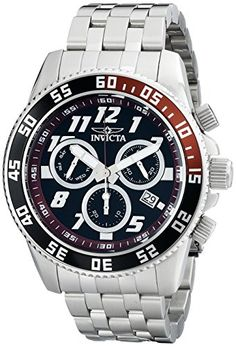 Invicta Mens 14512 Pro Diver Analog SwissQuartz Silver Watch >>> Click image to read more details. #MensOutdoorClothing