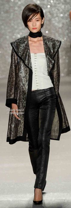 Pamella Roland Spring 2014 Ready to Wear #NYFW