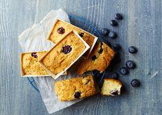 Blåbær muffins med marcipan uden tilsat sukker - Læs opskriften - Odense Marcipan