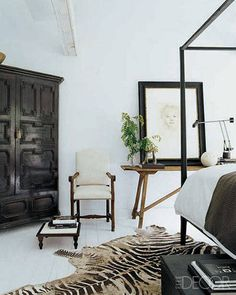 Modern Rustic Decor Photos - Darryl Carter Virginia Hhome fabulousome - ELLE DECOR