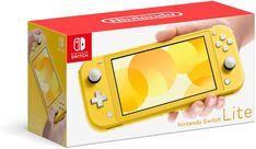 Optimized for personal, handheld play, Nintendo Switch Lite is a small and light Nintendo Switch system. Handheld Nintendo Switch gaming at a great price. Buy Nintendo Switch, Nintendo Switch System, Star Fox, King Of Fighters, Super Nintendo, Nintendo Lite, Mario Kart, Mario Bros, Xbox One