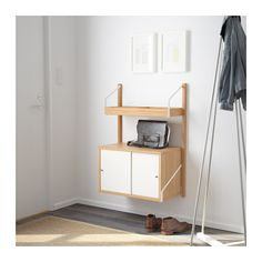 SVALNÄS Wall-mounted storage combination  - IKEA