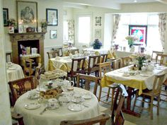 Peacocks Tearoom. A Gallery of a traditional english tearoom.