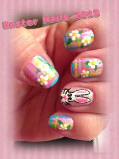 Easter nails 2013